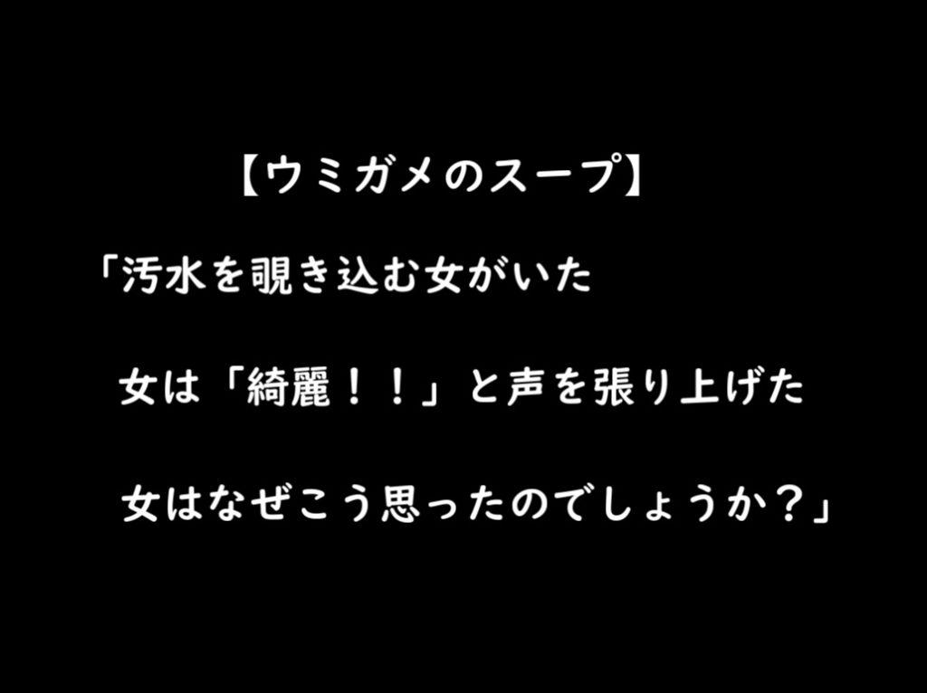 うみがめのスープ問題3
